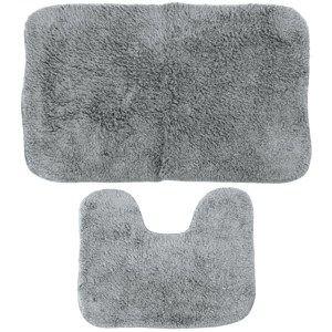 Koupelnová předložka Julius šedá , 70 x 50 cm, 50  x 40 cm