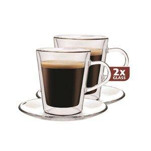 """Maxxo """"Doopio"""" 2dílná sada termo sklenic, 100 ml"""