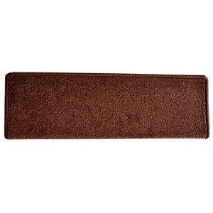 Nášlap na schody Eton obdelník hnědá, 24 x 65 cm