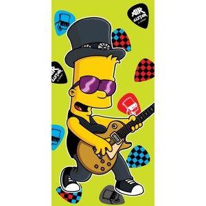 Osuška Bart guitar music, 75 x 150 cm