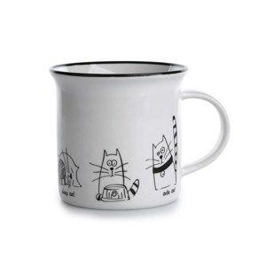 Porcelánový hrnek Kočky 240 ml