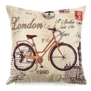 Povlak na polštářek Bicycle, 45 x 45 cm