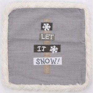 Povlak na polštářek Snow, 40 x 40 cm