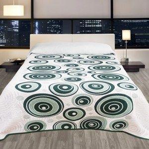 Přehoz na postel Congo zelená, 140 x 220 cm