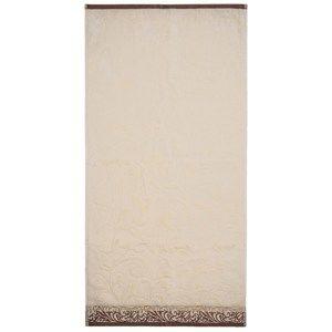 Ručník Skyline béžová, 50 x 100 cm