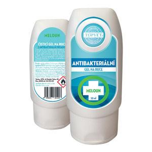 Topvet Antibakteriální gel na ruce Meloun, 50 ml