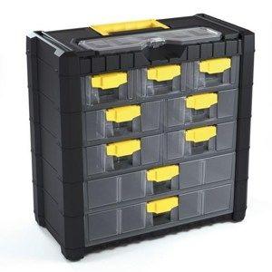 Závěsný box na šroubky 9 přihrádek XL